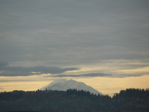 Clouds over Mt. Ranier