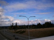Clouds over 520 facing East