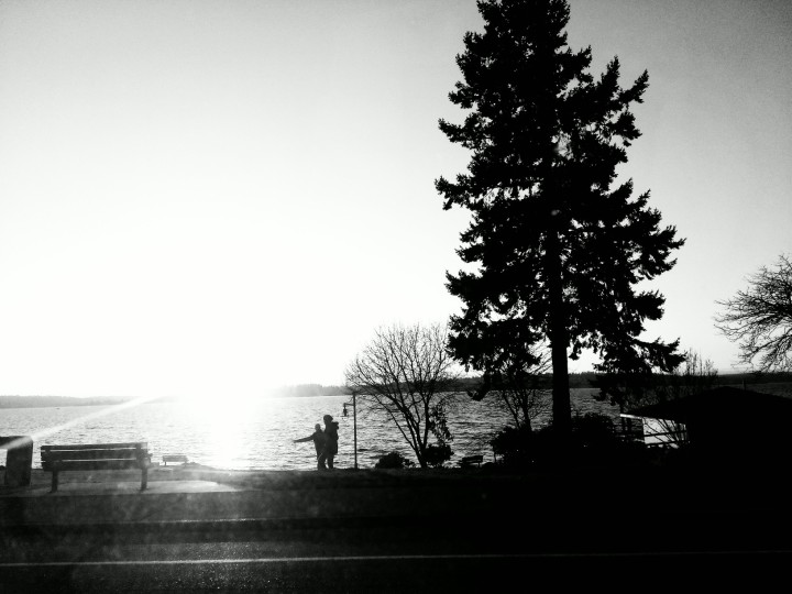 Sunset_B&W