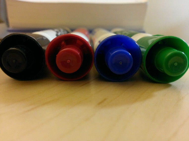 Colorful Markers