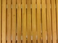 Sauna-style stool