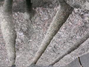 Lines in cut rocks