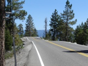 Just road and nothing else - Lake Tahoe