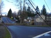 Blocked road - Washington
