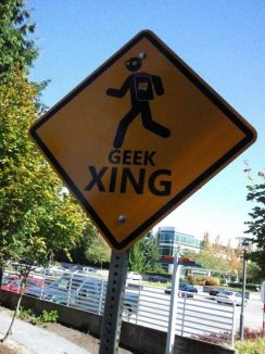 and geeks! (Oh, I see tons of those creatures indeed!)